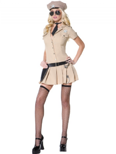 Sultry Sheriff - Sexy Fancy Dress (Smiffys 32772)